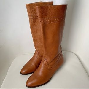 Westies Q-Durango Brown Leather Boots Size 5.5